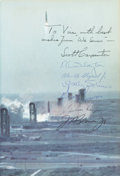 Autographs:Celebrities, Mercury Seven Astronauts Signed Book (By All): We Seven by The Astronauts Themselves....
