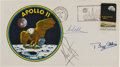 Explorers:Space Exploration, Apollo 11 Crew-Signed Launch Cover Directly from the Family Collection of Astronaut Richard Gordon....