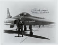 Autographs:Military Figures, Chuck Yeager Signed Photo. ...