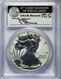 2011-P $1 Silver Eagle, 25th Anniversary Set, Reverse Proof, First Strike, Mercanti Signature PR70 PCGS. PCGS Population...