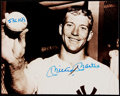"Autographs:Photos, Mickey Mantle Signed Photograph With ""536 HR's"" Inscription. . ..."