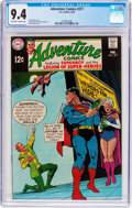 Silver Age (1956-1969):Superhero, Adventure Comics #377 (DC, 1969) CGC NM 9.4 Off-white to white pages....