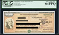 Miscellaneous:Other, $10,000 Series EE Patriot (Savings) Bond Issued Aug. 2004 at FRB (Branch) Pittsburgh Schwan 408a.. ...
