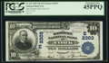 National Bank Notes:Pennsylvania, York, PA - $10 1902 Plain Back Fr. 632 The Western NB Ch. #(E)2303. ...