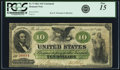 Large Size:Demand Notes, Fr. 9 $10 1861 Demand Note PCGS Fine 15.. ...