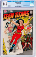 Silver Age (1956-1969):Superhero, Teen Titans #23 (DC, 1969) CGC VF+ 8.5 Off-white to white pages....