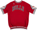 Basketball Collectibles:Uniforms, 1988-89 Sam Vincent Game Worn Chicago Bulls Shooting Shirt....