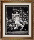 Baseball Collectibles:Photos, 1990's Mickey Mantle Signed Oversized Photograph, PSA/DNA Gem Mint10.. ...