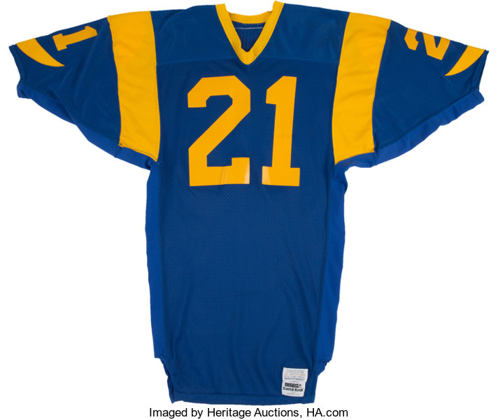 1980 s Nolan Cromwell Game Issued Los Angeles Rams Jersey....  3c51b39e1