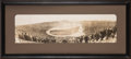 "Football Collectibles:Photos, 1926 Red Grange's Chicago Bears vs. P.H. ""Puss"" Halbritter's Los Angeles Tigers Original Panoramic Photograph...."
