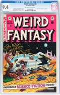 Golden Age (1938-1955):Science Fiction, Weird Fantasy #20 With EC Mailing Envelope (EC, 1953) CGC NM 9.4Off-white to white pages....