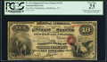 Error Notes:Double Denominations, Middlebury, VT - $10/$20 Double Denomination Original Fr. 412 The NB of Middlebury Ch. # 1195. ...
