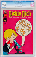 Silver Age (1956-1969):Cartoon Character, Richie Rich #82 File Copy (Harvey, 1969) CGC NM 9.4 Off-white to white pages....