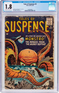 Silver Age (1956-1969):Mystery, Tales of Suspense #8 (Marvel, 1960) CGC GD- 1.8 Off-white to whitepages....