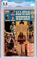 Bronze Age (1970-1979):Western, All-Star Western #10 (DC, 1972) CGC FN- 5.5 Off-white to white pages....
