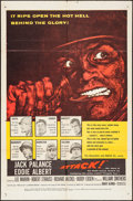 "Movie Posters:War, Attack! (United Artists, 1956). One Sheet (27"" X 41""). War.. ..."