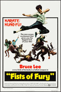 "The Big Boss (National General, 1973). One Sheet (27"" X 41""). Action. U.S. Title: Fists of Fury"