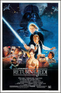 "Movie Posters:Science Fiction, Return of the Jedi (20th Century Fox, 1983). One Sheet (27"" X 41"")Style B, Kazuhiko Sano Artwork. Science Fiction.. ..."