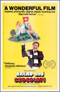 """Movie Posters:Foreign, Bread and Chocolate (World Northal, 1978/ CIC, 1973). One Sheet (27"""" X 41"""") & Italian 2 - Fogli (39.25"""" X 55"""") Antonio Mos A... (Total: 2 Items)"""