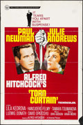"""Movie Posters:Hitchcock, Torn Curtain & Other Lot (Universal, 1966). One Sheet (27"""" X41"""") & French Half Grande (31.25"""" X 47""""). Hitchcock.. ...(Total: 2 Items)"""