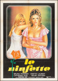 "Movie Posters:Foreign, Jeux de Minettes (Cinevog-Paris, 1978). Italian 2 - Fogli (39.25"" X 55""). Foreign. Alternative Title: ""Le Ninfette."". ..."