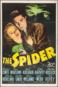 "The Spider (20th Century Fox, 1945). One Sheet (27"" X 41""). Mystery"