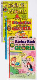 Bronze Age (1970-1979):Cartoon Character, Richie Rich and Gloria #1-25 Near-Complete Series File Copies Groupof 24 (Harvey, 1977-82) Condition: Average NM-.... (Total: 24 ComicBooks)