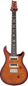Musical Instruments:Electric Guitars, 2013 Paul Reed Smith (PRS) SE Sunburst 7-String Solid Body ElectricGuitar, Serial # N15520....