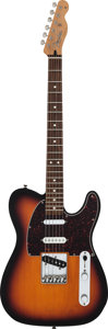 Musical Instruments:Electric Guitars, 1998 Fender Telecaster Sunburst Solid Body Electric Guitar, Serial# MN8120960....