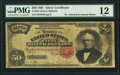 Large Size:Silver Certificates, Fr. 332 $50 1891 Silver Certificate PMG Fine 12.. ...