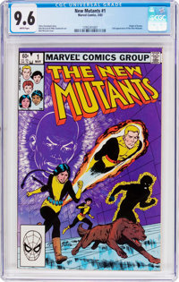 The New Mutants #1 (Marvel, 1983) CGC NM+ 9.6 White pages