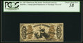 Fractional Currency:Third Issue, Fr. 1357 50¢ Third Issue Justice PCGS Choice About New 58.. ...