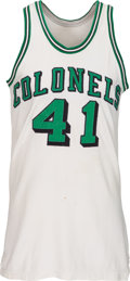 Basketball Collectibles:Uniforms, 1967-68 Kendall Rhine Game Worn Kentucky Colonels Uniform - Fromthe ABA's Inaugural Season!...