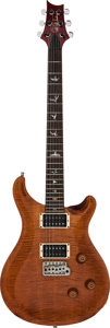 Musical Instruments:Electric Guitars, 1996 Paul Reed Smith (PRS) Custom 24 Amber Solid Body Electric Guitar, Serial # 6 25070....