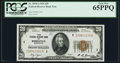 Small Size:Federal Reserve Bank Notes, Fr. 1870-I $20 1929 Federal Reserve Bank Note. PCGS Gem New 65PPQ.. ...