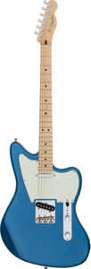 Musical Instruments:Electric Guitars, 2016 Fender Telemaster Lake Placid Blue Solid Body Electric Guitar,Serial # US16026507....
