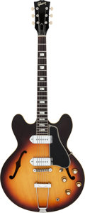 Musical Instruments:Electric Guitars, 1967 Gibson ES-330 TD Sunburst Semi-Hollow Body Electric Guitar, Serial # 068675....