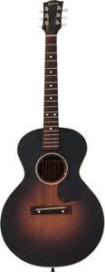 Musical Instruments:Acoustic Guitars, 1953 Gibson LG-1 3/4 Sunburst Acoustic Guitar, Serial # Y4478 12....