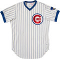Baseball Collectibles:Uniforms, 1977 Herman Franks Game Worn Chicago Cubs Coach's Jersey. . ...