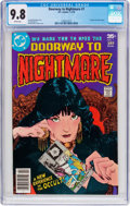 Bronze Age (1970-1979):Horror, Doorway to Nightmare #1 (DC, 1978) CGC NM/MT 9.8 White pages....