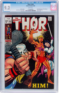 Silver Age (1956-1969):Superhero, Thor #165 (Marvel, 1969) CGC NM- 9.2 White pages....