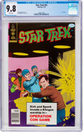 Bronze Age (1970-1979):Science Fiction, Star Trek #61 (Gold Key, 1979) CGC NM/MT 9.8 White pages....