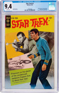 Silver Age (1956-1969):Science Fiction, Star Trek #2 (Gold Key, 1968) CGC NM 9.4 White pages....