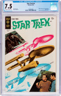 Silver Age (1956-1969):Science Fiction, Star Trek #4 (Gold Key, 1969) CGC VF- 7.5 Off-white to white pages....