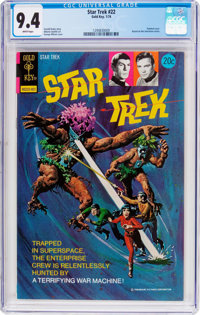Star Trek #22 (Gold Key, 1974) CGC NM 9.4 White pages