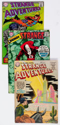 Silver Age (1956-1969):Science Fiction, Strange Adventures Group of 27 (DC, 1955-70) Condition: AverageVG.... (Total: 27 Comic Books)