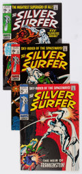Silver Age (1956-1969):Superhero, The Silver Surfer Group of 4 (Marvel, 1969-70) Condition: Average FN.... (Total: 4 Comic Books)