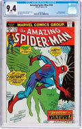 Bronze Age (1970-1979):Superhero, The Amazing Spider-Man #128 (Marvel, 1974) CGC NM 9.4 White pages....
