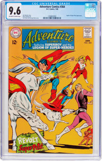 Adventure Comics #364 (DC, 1968) CGC NM+ 9.6 Off-white to white pages