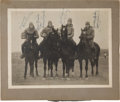 Football Collectibles:Photos, 1924 The Four Horsemen of Notre Dame Multi-Signed Photograph. ...